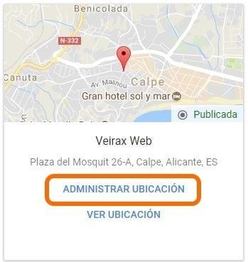 Imagen 2 en el artículo Como añadir usuarios a una ficha de empresa de Google en veiraxweb.com