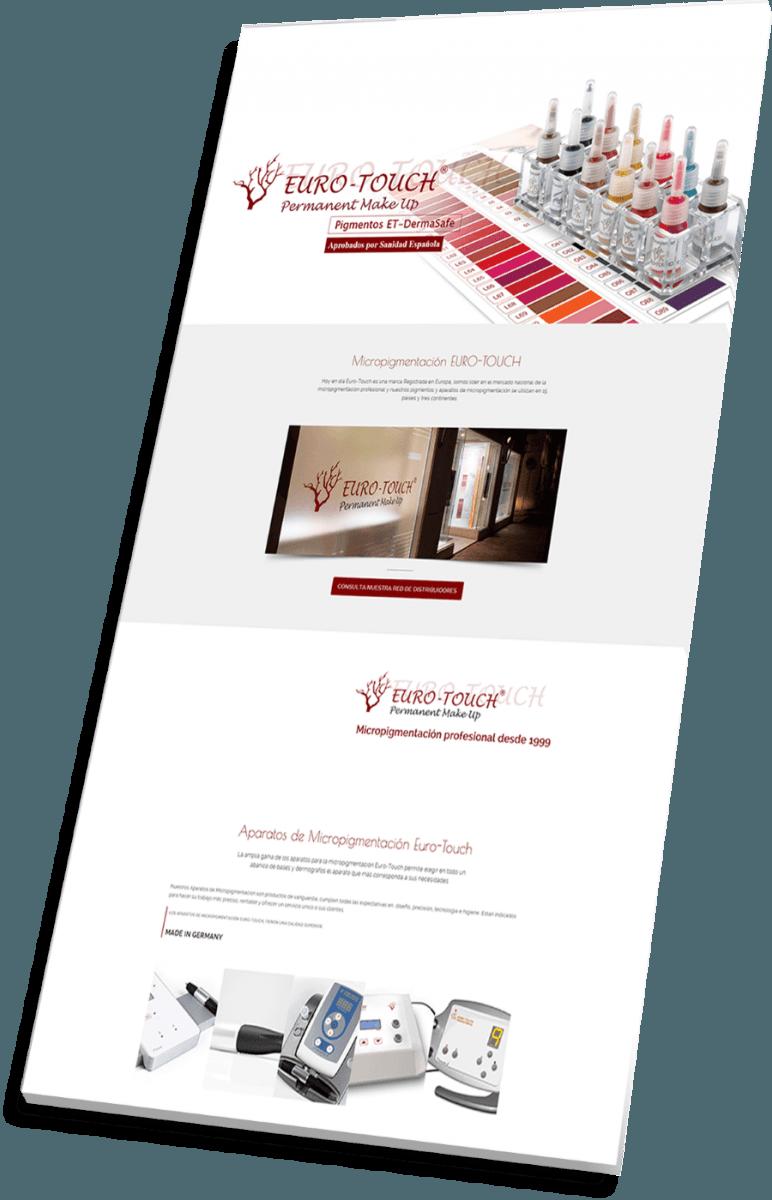 Portfolio de Veirax Web - Euro Touch