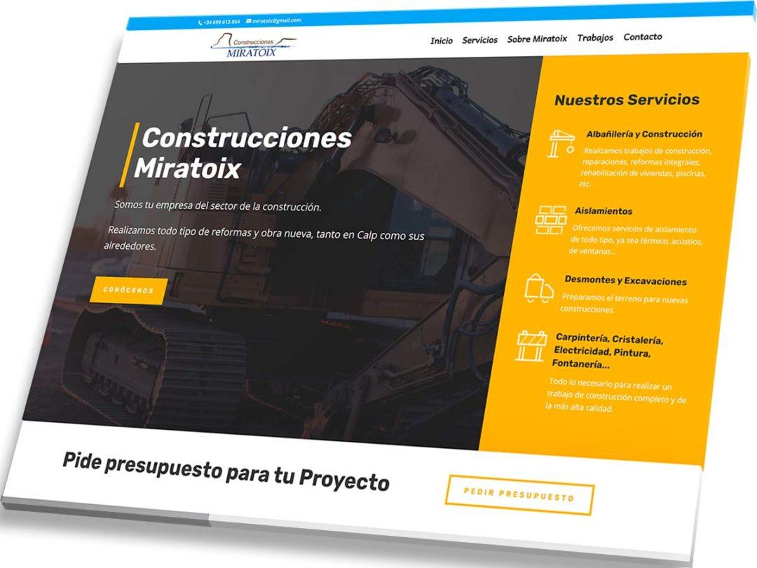 Portfolio de Veirax Web - Miratoix