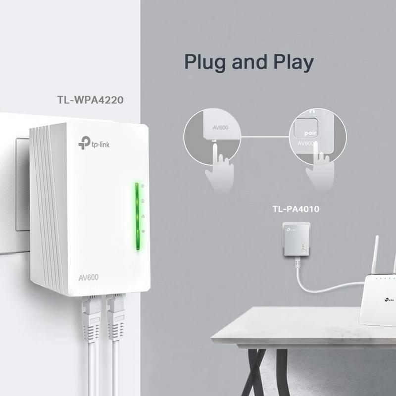 PLC TP-Link TL-WPA4220 - WiFi por Línea Eléctrica 3