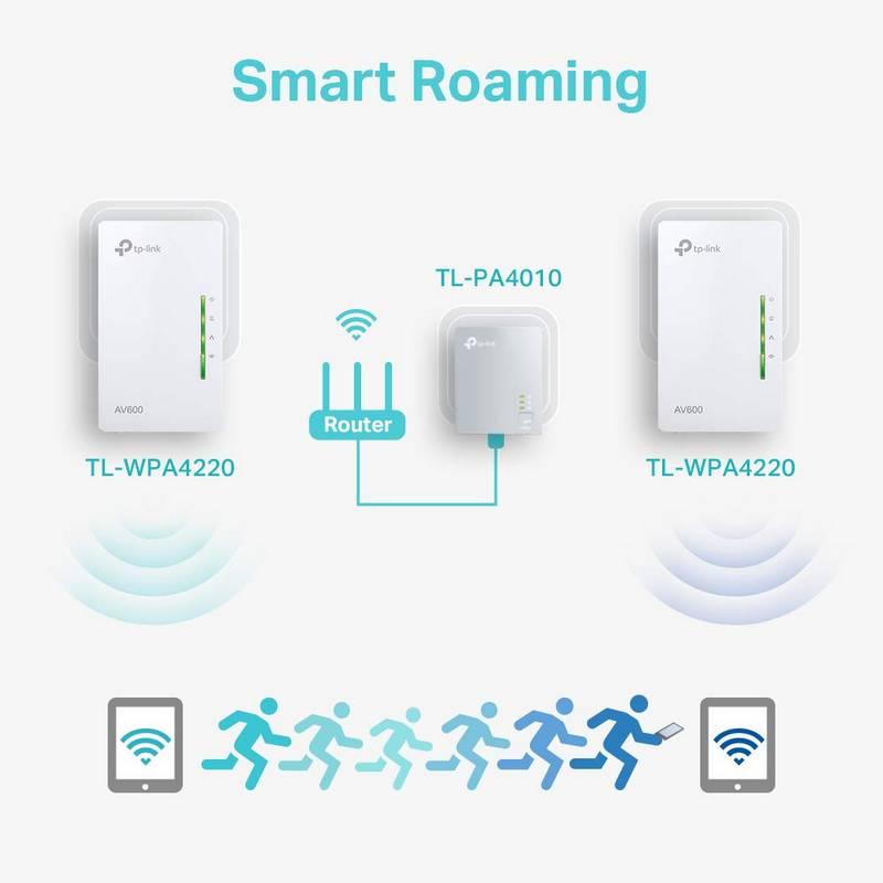 PLC TP-Link TL-WPA4220 - WiFi por Línea Eléctrica 5