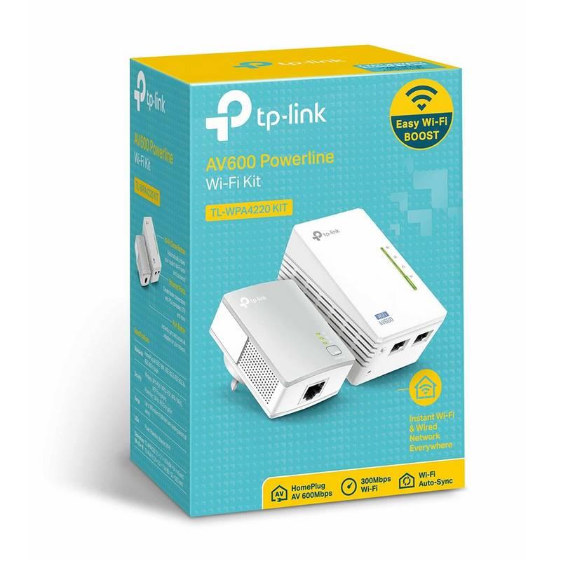 PLC TP-Link TL-WPA4220 - WiFi por Línea Eléctrica 6