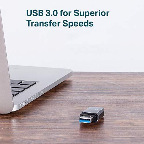 TP-Link Adaptador wifi USB Receptor WiFi con Doble Banda Tarjeta de Red con doble banda 1300Mbps, MU-MIMO, USB 3.0, Tamaño Mini (Archer T3U) 5