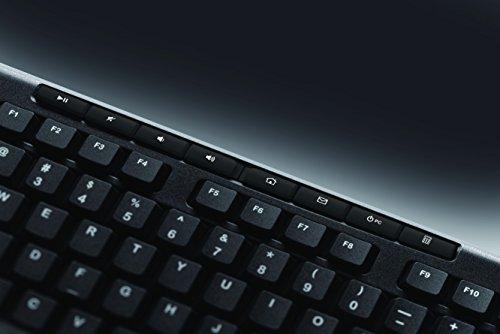 Logitech K270 Teclado Inalámbrico para Windows, 2,4 GHz con Receptor USB Unifying, 8 Teclas Programables, Batería 24… 4