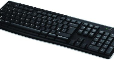 Logitech K270 Teclado Inalámbrico para Windows, 2,4 GHz con Receptor USB Unifying, 8 Teclas Programables, Batería 24 Meses, Disposición QWERTY Español, Color Negro 1