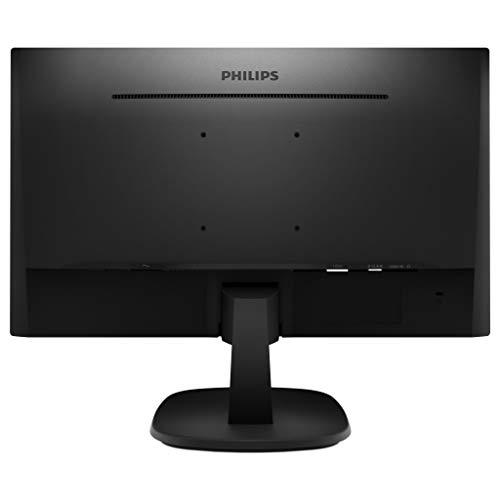 "Philips 223V7QHAB/00 - Monitor IPS de 21.5"" con Altavoces (Full HD, 1920x1080, Sin bordes, Flicker Free, Low Blue Mode, VESA, VGA + HDMI) 4"