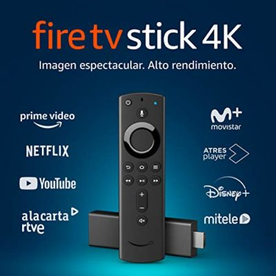 Fire TV Stick 4K Ultra HD con mando por voz Alexa de última generación | Reproductor de contenido multimedia en… 2