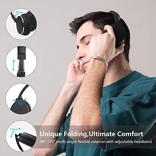 Auriculares de Diadema Estéreo Inalámbricos con Cancelación de Ruido Bluetooth 5.0.Srhythm NC25 (2020) ANC Headhpones… 4