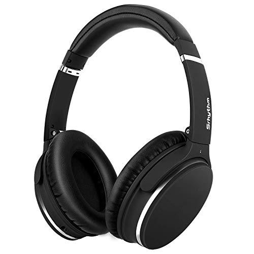 Auriculares de Diadema Estéreo Inalámbricos con Cancelación de Ruido Bluetooth 5.0.Srhythm NC25 (2020) ANC Headhpones… 1