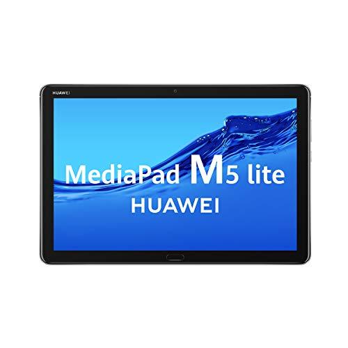 "HUAWEI MediaPad M5 Lite - Tablet de 10.1"" (Wifi, RAM de 4GB, ROM de 64GB, Android 8.0) - Color Gris 1"