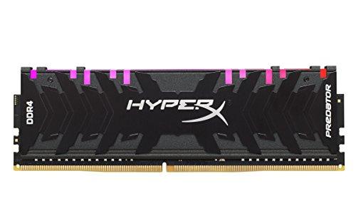 HyperX Predator HX429C15PB3AK2/16 Memoria 2933MHz DDR4 CL15 DIMM XMP 16GB Kit (2x8GB) RGB 2