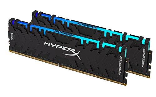 HyperX Predator HX429C15PB3AK2/16 Memoria 2933MHz DDR4 CL15 DIMM XMP 16GB Kit (2x8GB) RGB 1