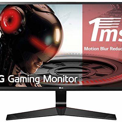 "LG 27MP59G-P - Monitor Gaming FHD de 68, 6 cm (27"") con Panel IPS (1920 x 1080 píxeles, 16:9, 1 ms con MBR, 75Hz, 250 cd/m², 1000:1, sRGB >99%, D-SUB x1, HDMI x1, DP x1) Color Negro 11"