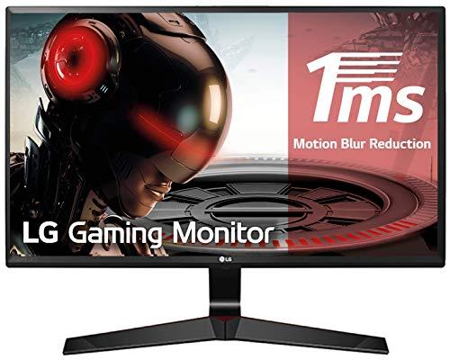 "LG 27MP59G-P - Monitor Gaming FHD de 68, 6 cm (27"") con Panel IPS (1920 x 1080 píxeles, 16:9, 1 ms con MBR, 75Hz, 250 cd/m², 1000:1, sRGB >99%, D-SUB x1, HDMI x1, DP x1) Color Negro 1"