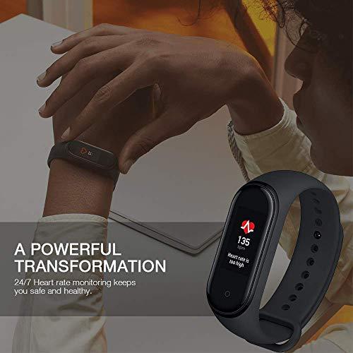 Xiaomi Mi Smart Band 4 - Tracker de actividad física con medidor de frecuencia cardíaca - Negro - Unisex 3