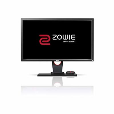 "BenQ ZOWIE XL2430 - Monitor Gaming de 24"" FullHD (1920x1080, 1ms, 144Hz, HDMI, Black eQualizer, Color Vibrance, S Switch, DisplayPort, DVI-DL, Flicker-free, Altura Ajustable) - Gris Oscuro 5"