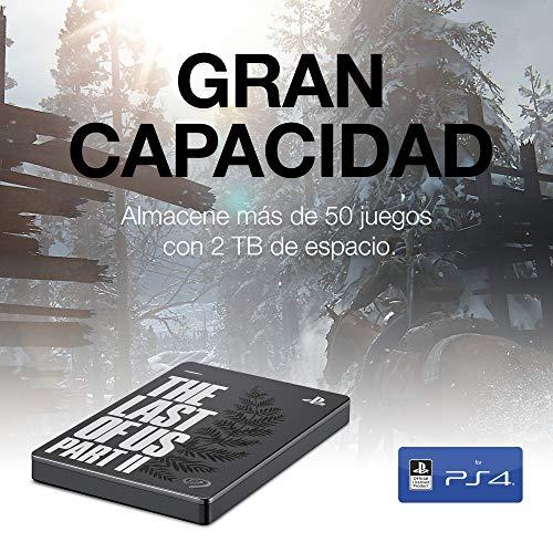 Seagate Game Drive, 2 TB, Disco duro externo, HDD portátil, compatible con PS4 (STGD2000200) 2