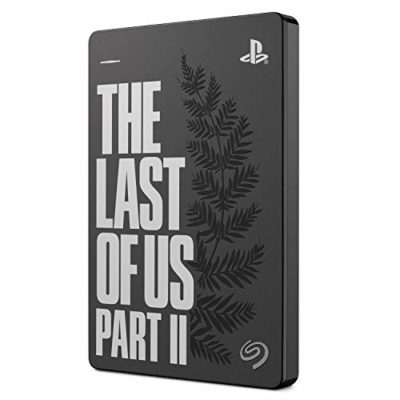 Seagate Game Drive para PS4 2 TB, Disco duro portátil externo HDD: USB 3.0, The Last of Us II Special Edition, diseñada para PS4 (STGD2000103) 2