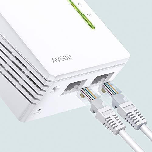 TP-Link TL-WPA4220-1 Adaptadores de Comunicación por Línea Eléctrica (WiFi AV 600 Mbps, PLC con WiFi, Extensor… 7
