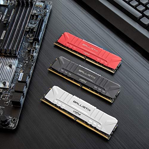 Crucial Ballistix BL2K4G24C16U4B 2400 MHz, DDR4, DRAM, Memoria Gamer para Ordenadores de sobremesa, 8GB (4GB x2), CL16… 3