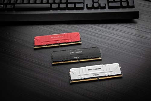 Crucial Ballistix BL2K4G24C16U4B 2400 MHz, DDR4, DRAM, Memoria Gamer para Ordenadores de sobremesa, 8GB (4GB x2), CL16… 4