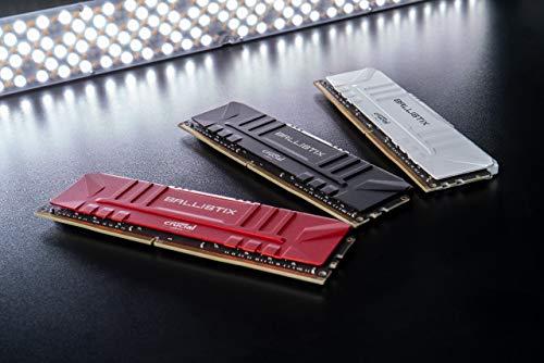 Crucial Ballistix BL2K4G24C16U4B 2400 MHz, DDR4, DRAM, Memoria Gamer para Ordenadores de sobremesa, 8GB (4GB x2), CL16… 5