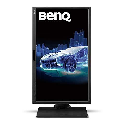 "BenQ BL2420PT - Monitor para Diseñadores de 23.8"" (2K QHD, 2560x1440, 100% sRGB, Rec. 709, IPS, modo CAD, Low Blue Light , Flicker-free, Altura y Rotación Ajustable), Color Negro 5"