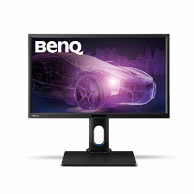 "BenQ BL2420PT - Monitor para Diseñadores de 23.8"" (2K QHD, 2560x1440, 100% sRGB, Rec. 709, IPS, modo CAD, Low Blue Light , Flicker-free, Altura y Rotación Ajustable), Color Negro 20"