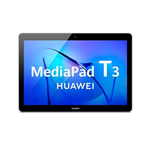 Huawei Media Pad T5 Tablet de 10,1 Pulgadas Full HD (Android 8.0, EMUI 8.0, 16 GB) Negro LTE RAM DE 2 GB Negro + Tarjeta… 1