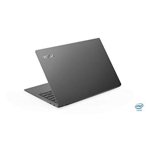 "Lenovo Yoga S730 - Ordenador portátil Ultrafino 13.3"" FullHD (Intel Core i7-8565U, 8GB RAM, 512GB SSD, Intel UHD Graphics 620, Windows 10 Home) Gris - Teclado QWERTY Español 6"