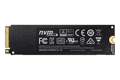 Samsung 970 Evo Plus, Unidad de Estado Sólido M.2 1000GB V-NAND MLC, PCI Express 3.0, Negro 4