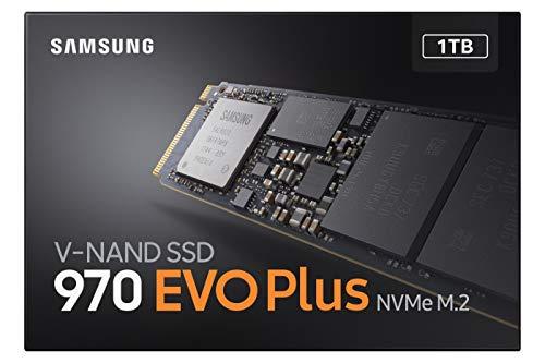 Samsung 970 Evo Plus, Unidad de Estado Sólido M.2 1000GB V-NAND MLC, PCI Express 3.0, Negro 5