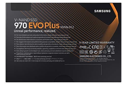 Samsung 970 Evo Plus, Unidad de Estado Sólido M.2 1000GB V-NAND MLC, PCI Express 3.0, Negro 6