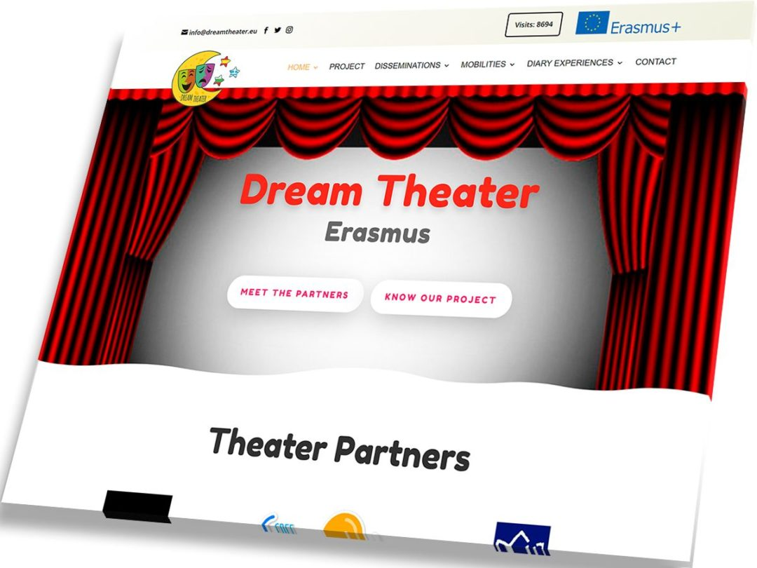 Trabajos de Veirax Web - Dream Theater