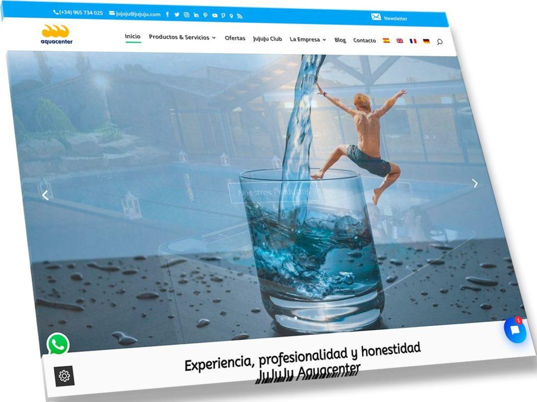 Trabajos de Veirax Web - JuJuJu Aquacenter