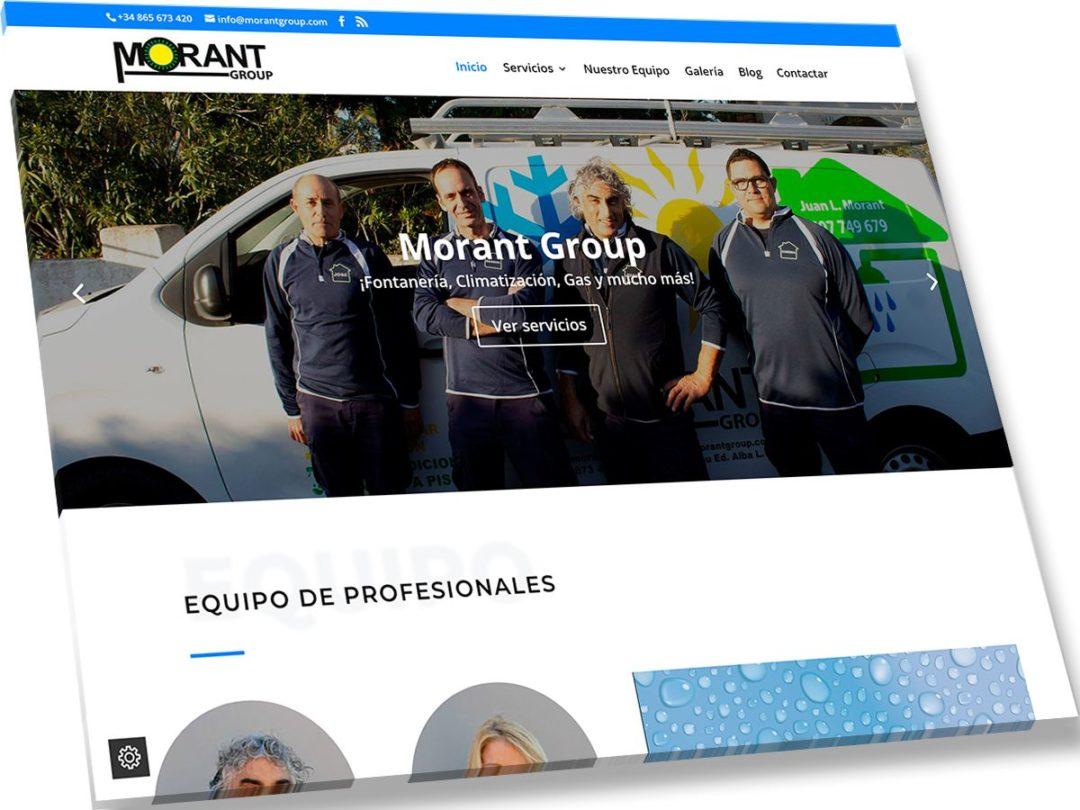 Trabajos de Veirax Web - Morant Group